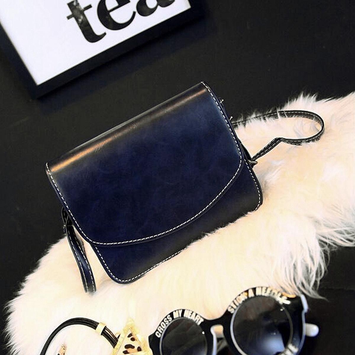 Fashion Women Lady Leather Shoulder Handbag Messenger Crossbody Bag Tote Satchel