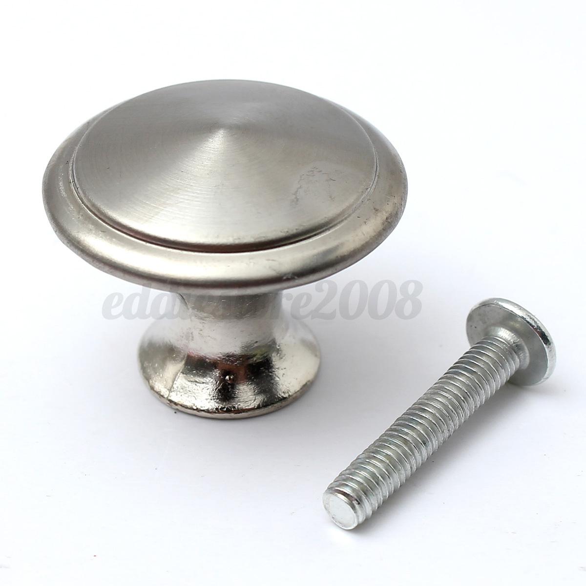 1 2 4pcs door cabinet cupboard drawer mounting screw pull. Black Bedroom Furniture Sets. Home Design Ideas