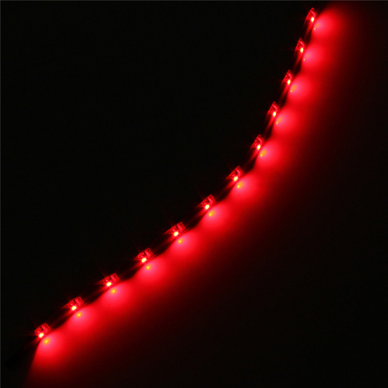 Battery Power Operated 30CM LED SMD Car Wall Strip Fairy Light Waterproof String eBay