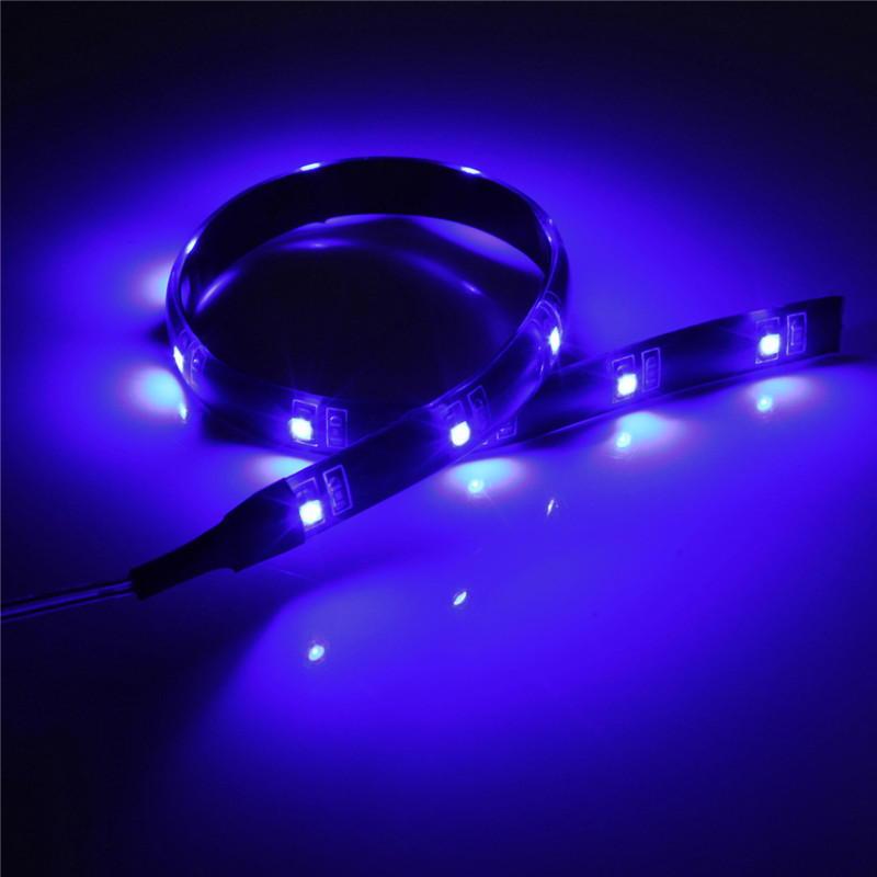 String Lights For Cars : Battery Power Operated 30CM LED SMD Car Wall Strip Fairy Light Waterproof String eBay