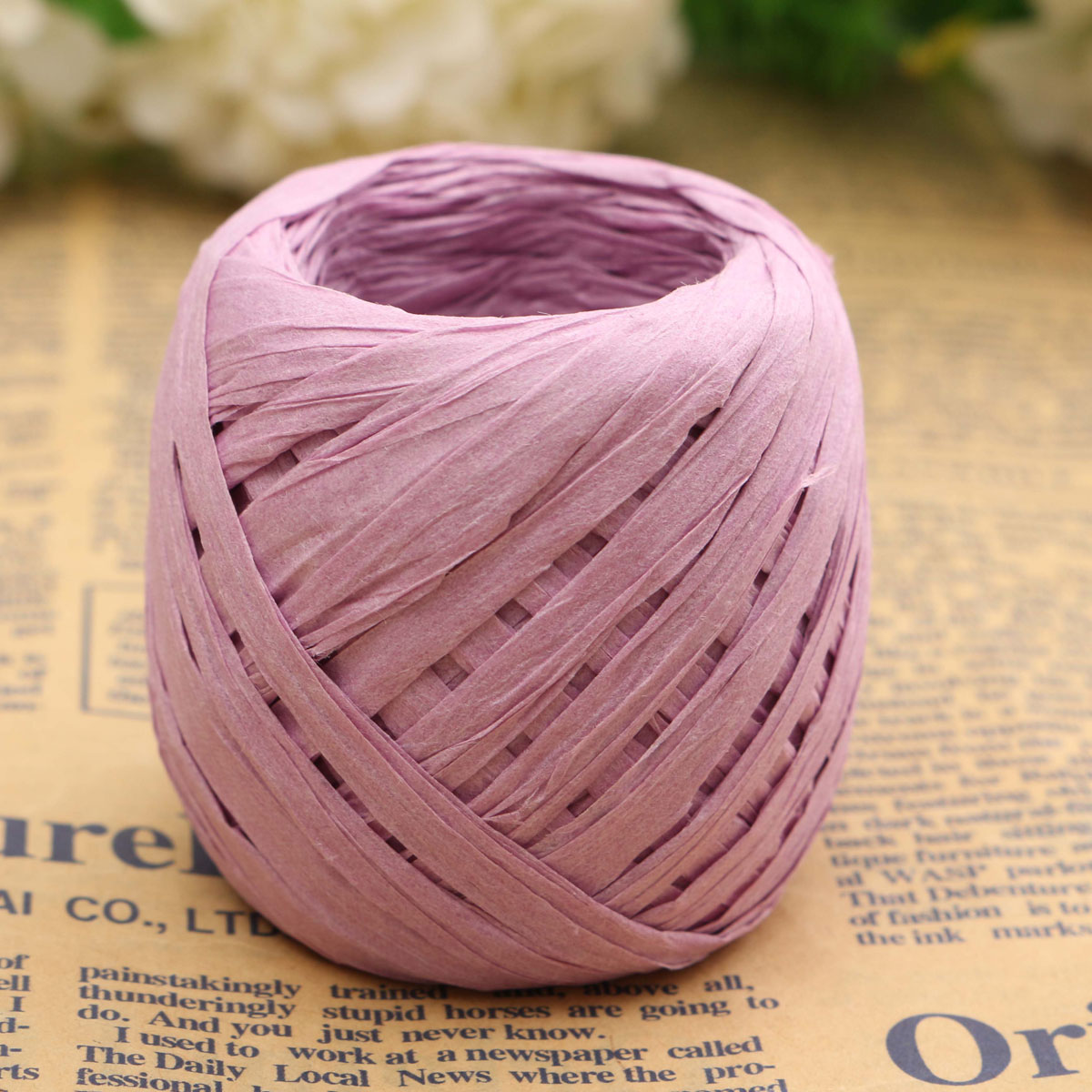 Decorating With Raffia 20m Raffia Paper Ribbon 7mm All Colours Decorating Flower Gift