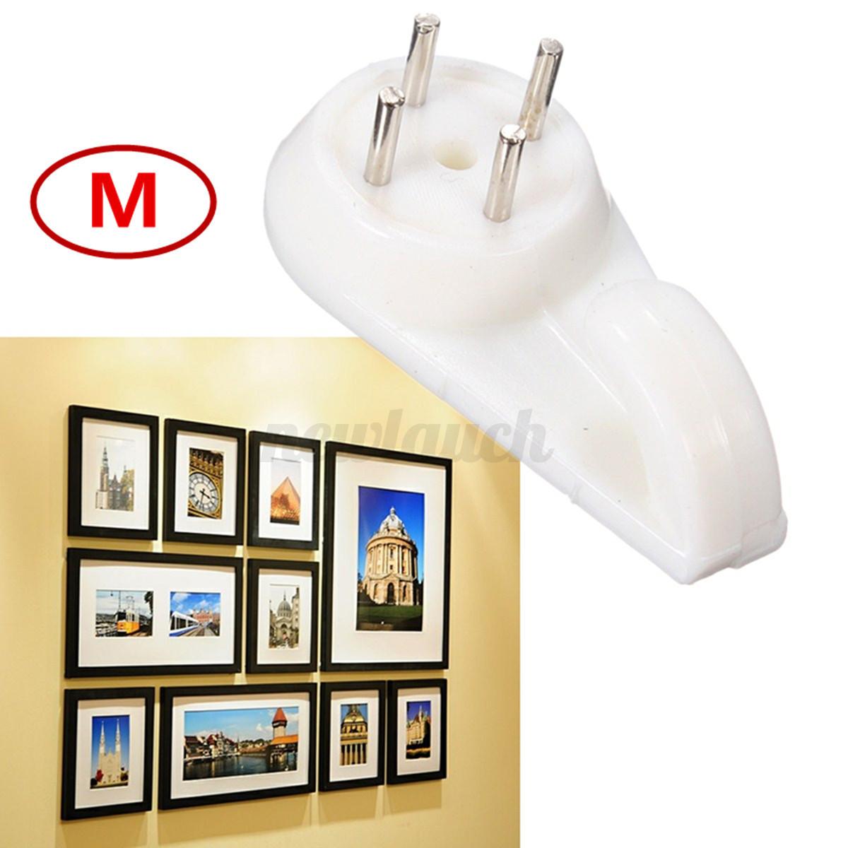 plastique crochet cintre mural mur dur cadre photo tableau miroir sac parapluie ebay