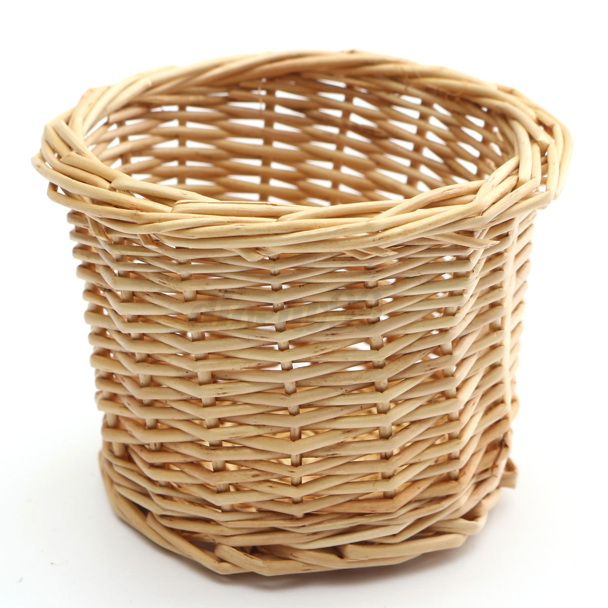 Handmade Small Baskets : Country pastoral style handmade wicker willow storage