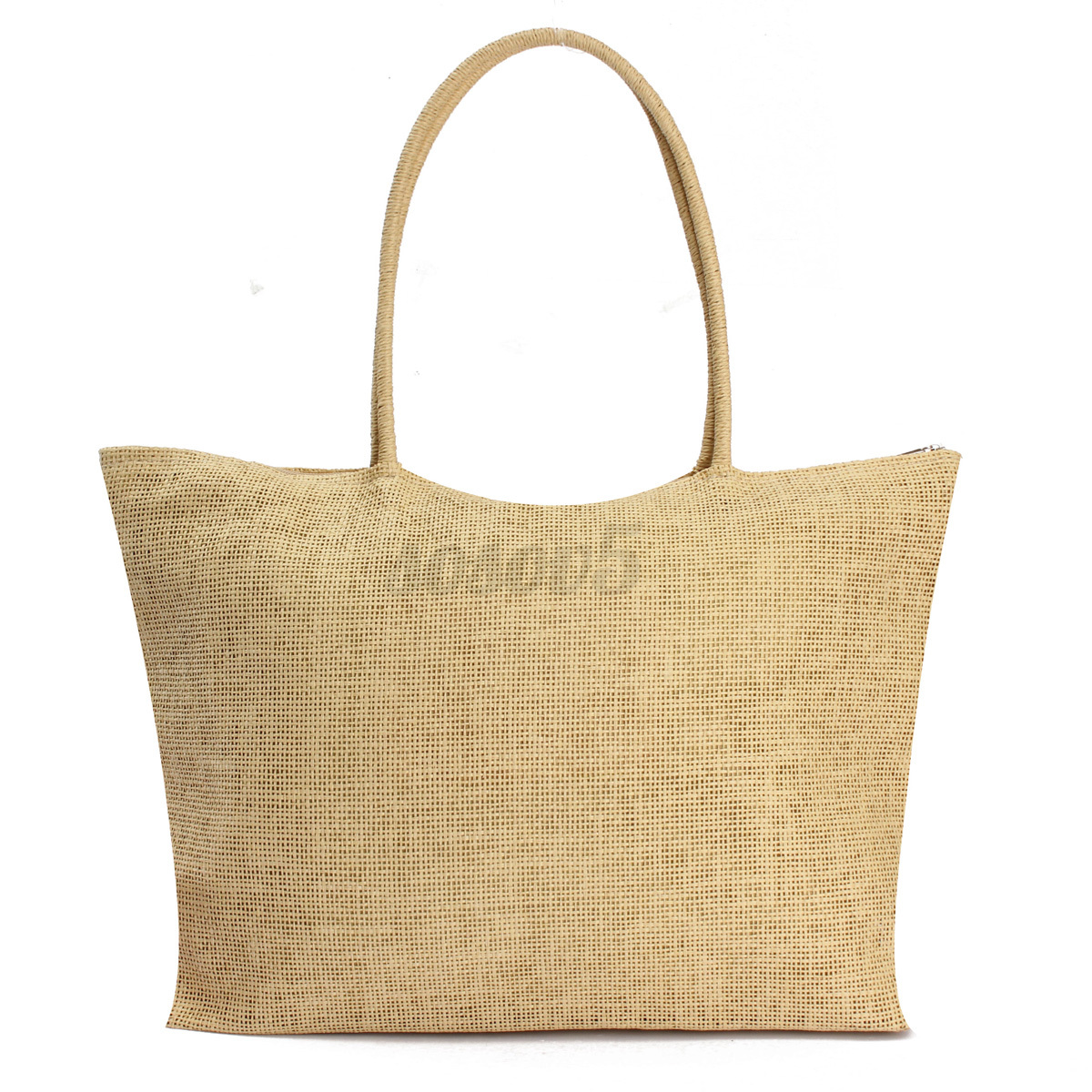 Women Summer Straw Weave Shoulder Tote Shopping Lady Beach Bag Purse Handbag HOT