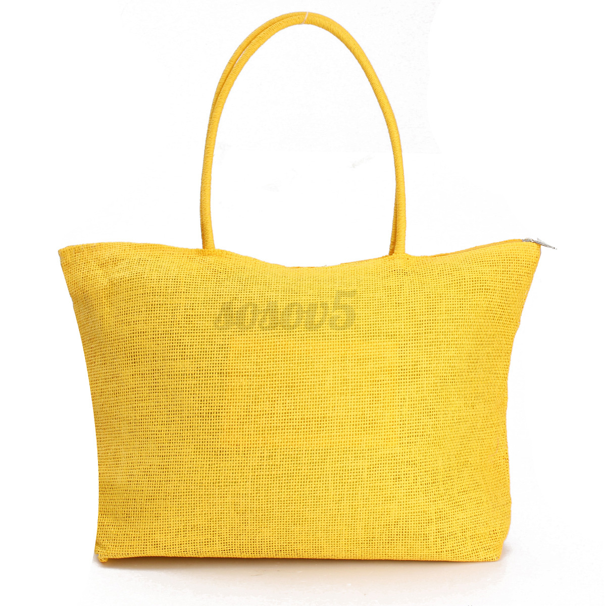 Women Summer Straw Weave Shoulder Tote Shopping Lady Beach Bag ...