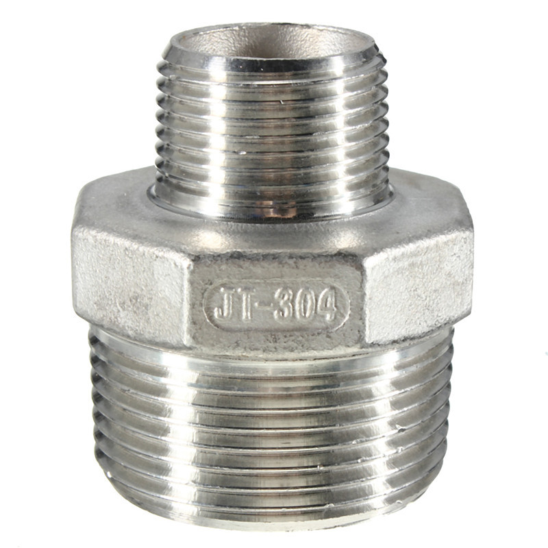 Male thread pipe nipple fitting barb hose tail connector