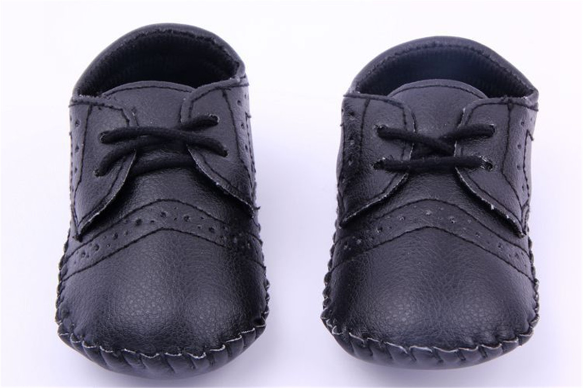 b b chaussons cuir lacets chaussures gar on fille semelle souple antid rapant ebay. Black Bedroom Furniture Sets. Home Design Ideas