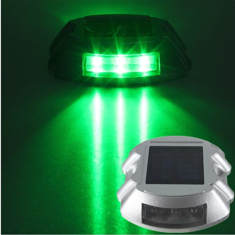 6 LED Faretto Luce ad Energia Solare Lampada Led Giardino Illuminazione Esterno  eBay