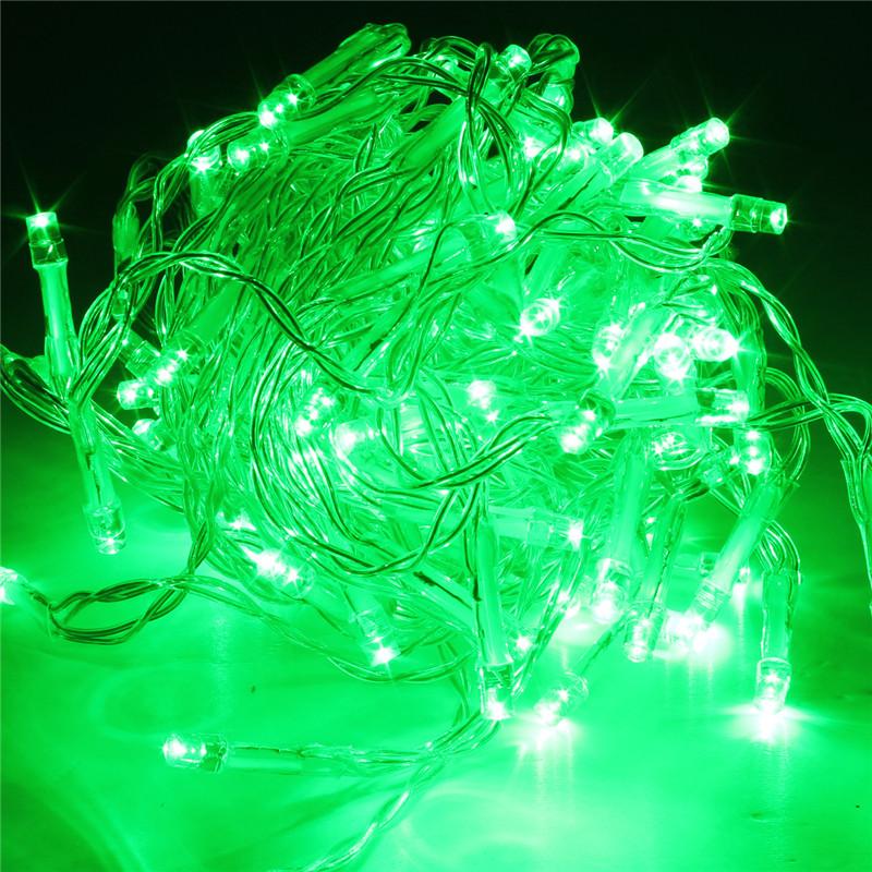 Battery LED Funky ON/ Twinkling Lamp Fairy String Lights 5M Christmas Wedding eBay