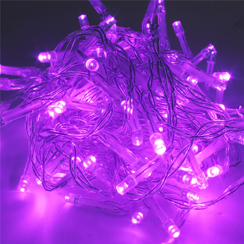 Battery LED Funky ON/ Twinkling Lamp Fairy String Lights 5M Christmas Wedding eBay