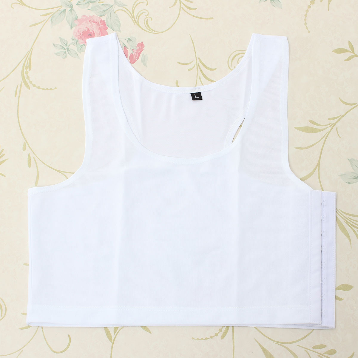 Lesbian Tomboy Les Breathable Chest Binder Short Vest Tops Tank Undershirt