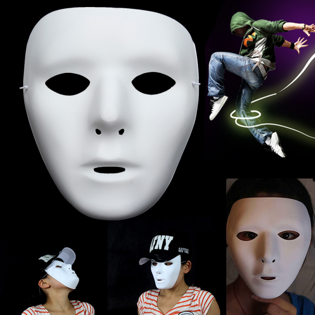Jabbawockeez Halloween Ghost Dance Hiphop Robot Party Drama ...