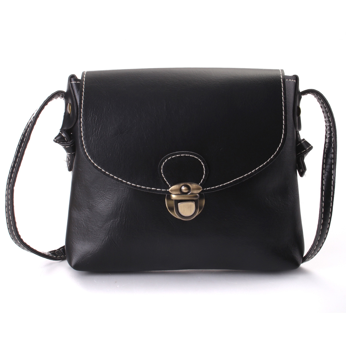 New Women PU Leather Shoulder Bag Crossbody Satchel Messenger Tote Purse Handbag