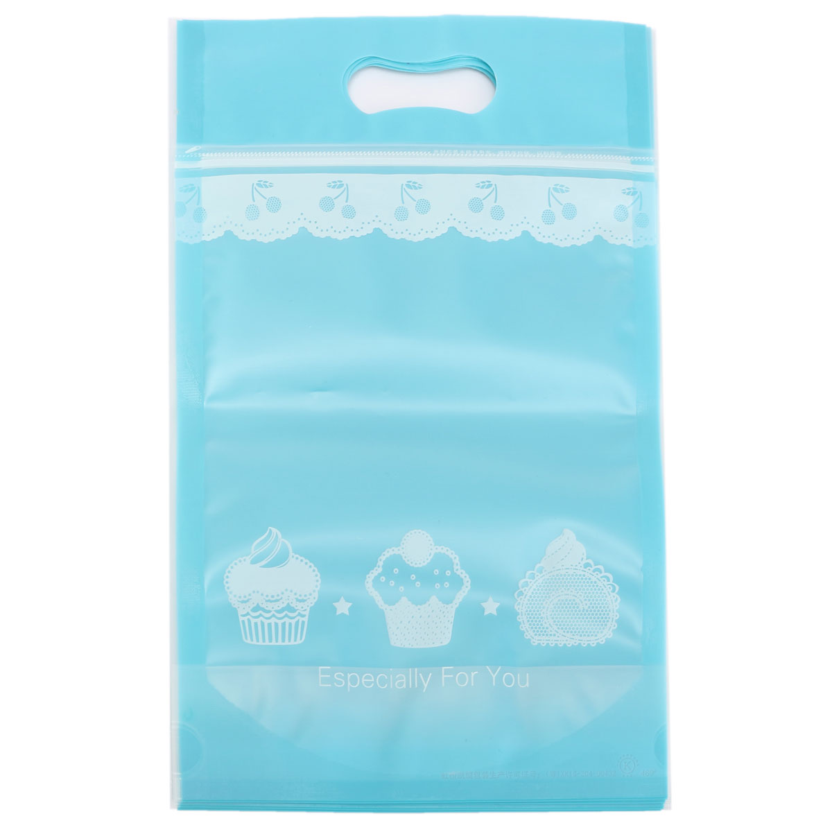 4/12X Self Press Seal Resealable Candy/biscuits  Bags Zip Lock Plastic Bags NEW