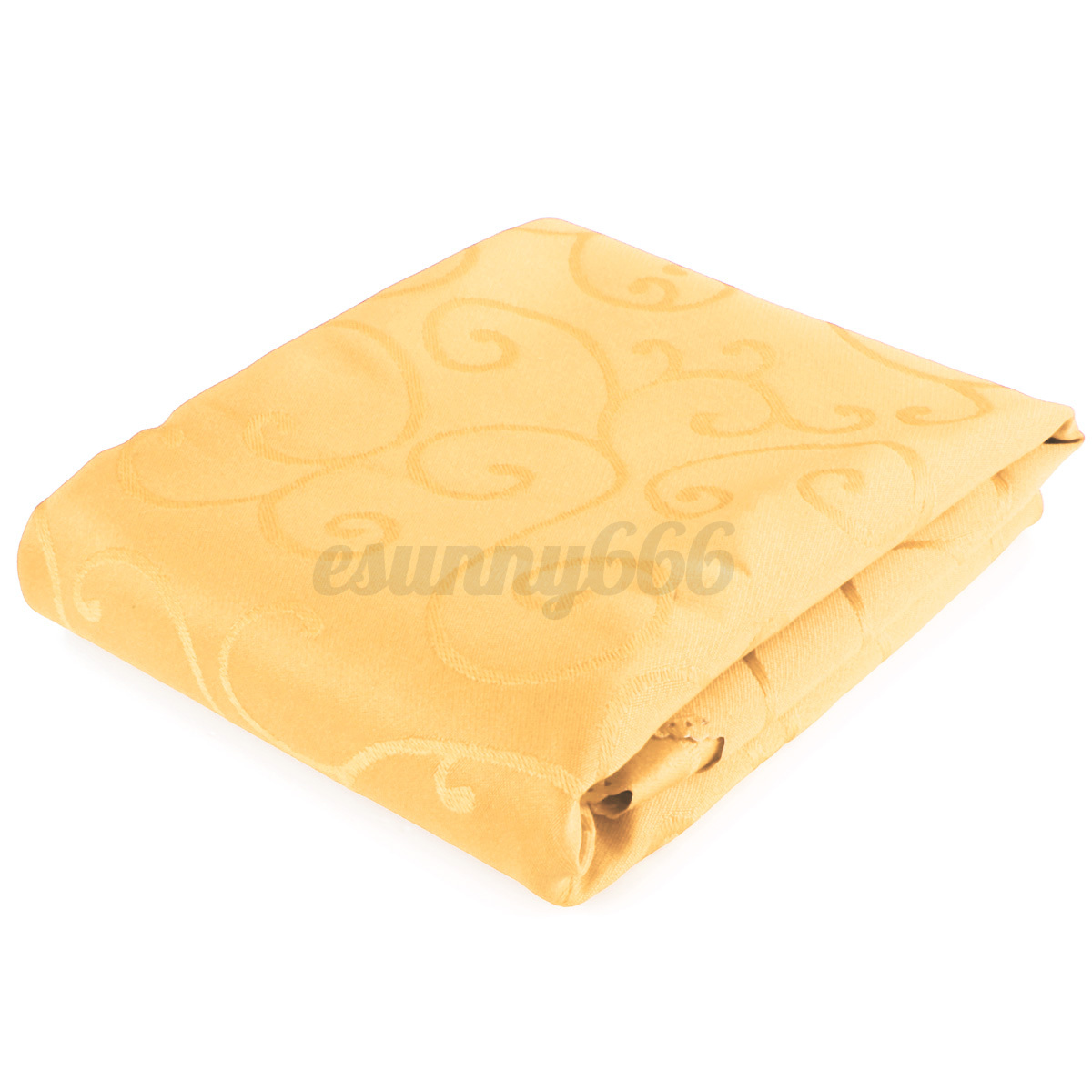 1.2m Square Tablecloths Elegant Flower Pattern Wedding Table Cover Banquet Party
