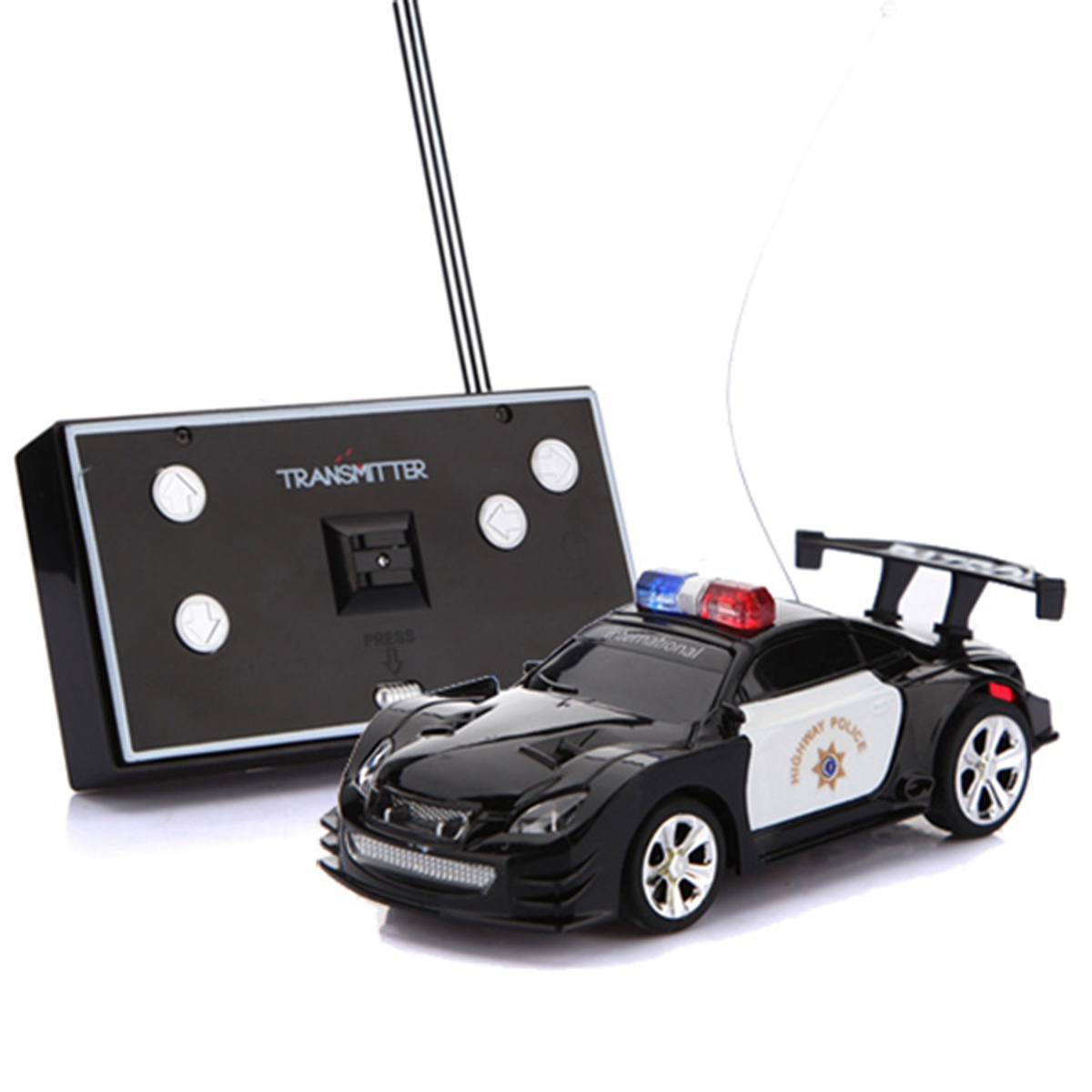 mini rc remote radio control racing kids police