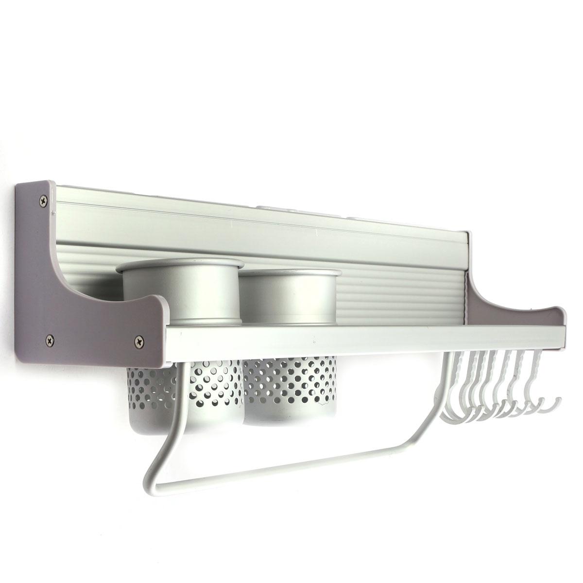 etag re titulaire de cuisine rangement mural pr couteau epices stockage alumimum ebay. Black Bedroom Furniture Sets. Home Design Ideas