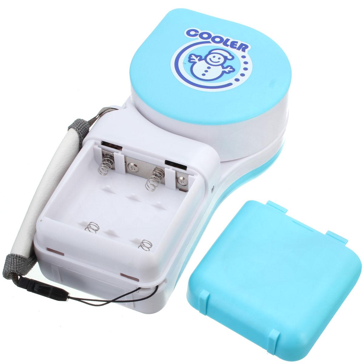Cute Air Fans : Cute portable mini hand held handy cooler fan usb battery