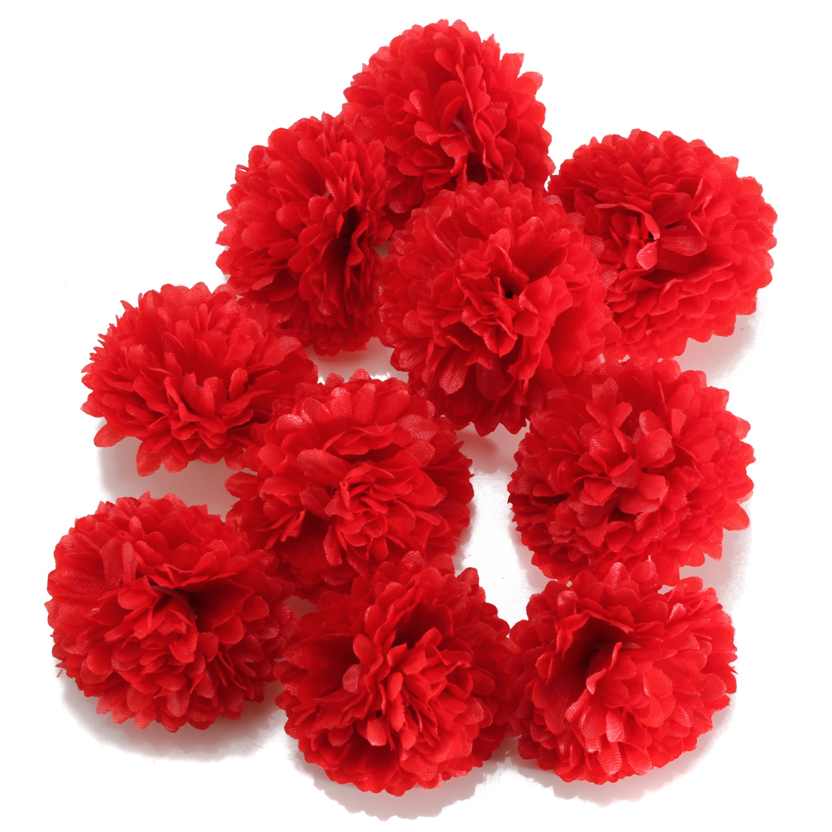Wholesale silk flower heads for crafts