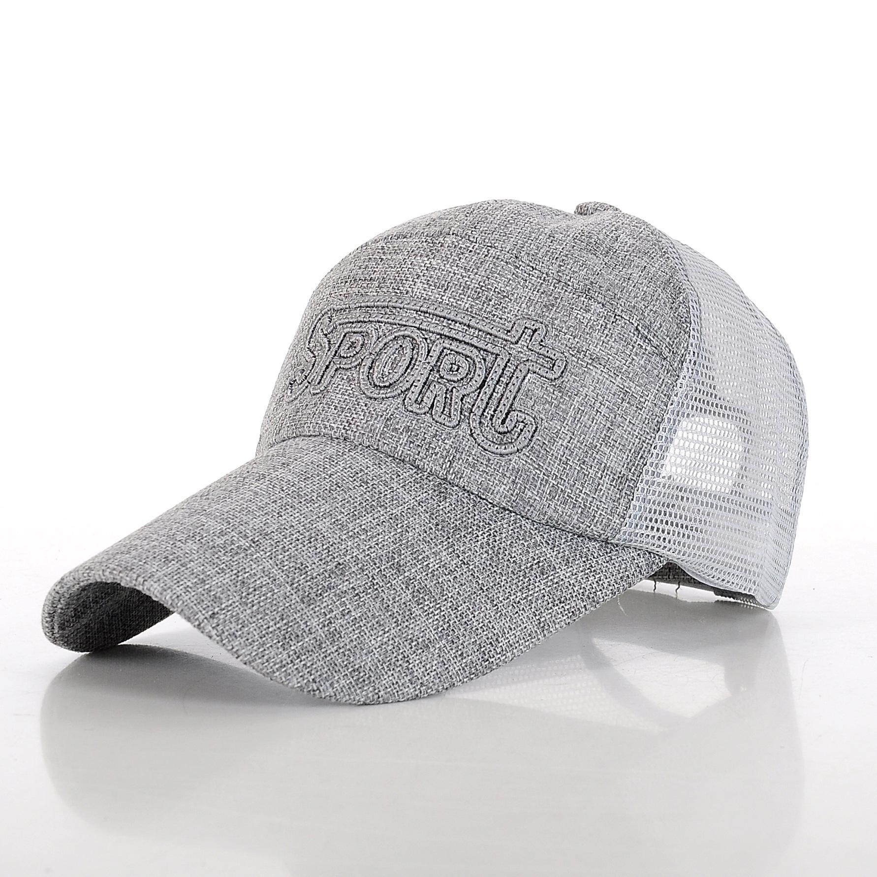 Unisex Men Women Mesh Sports Baseball Trucker Hat Visor Adjustable Cap