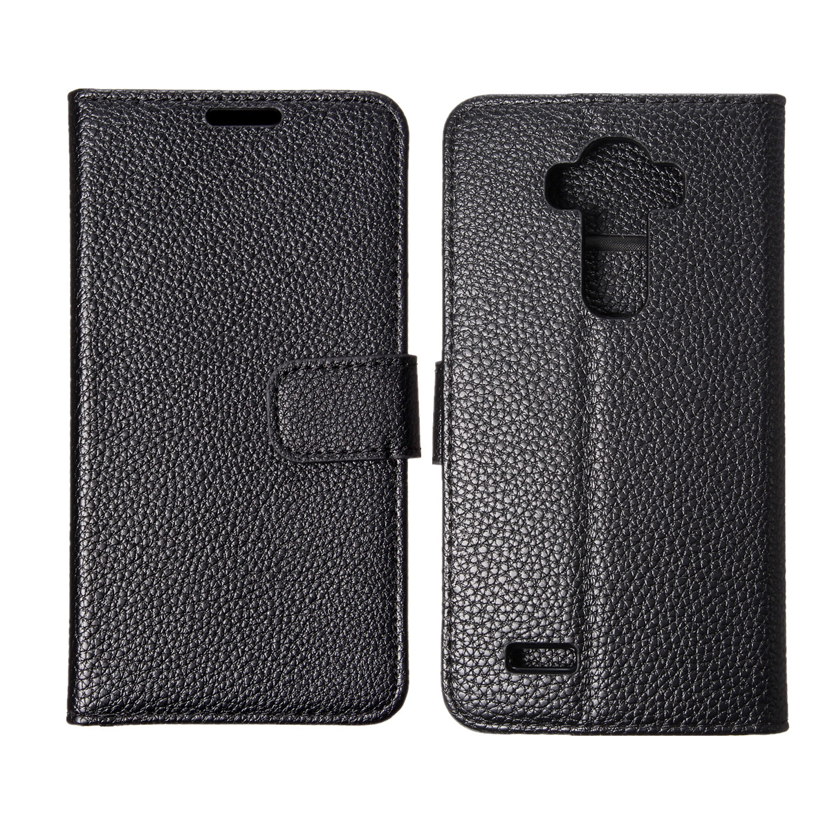 Magnetic Slim Leather Flip Wallet Credict Card Stand Case Cover Skin For LG G4