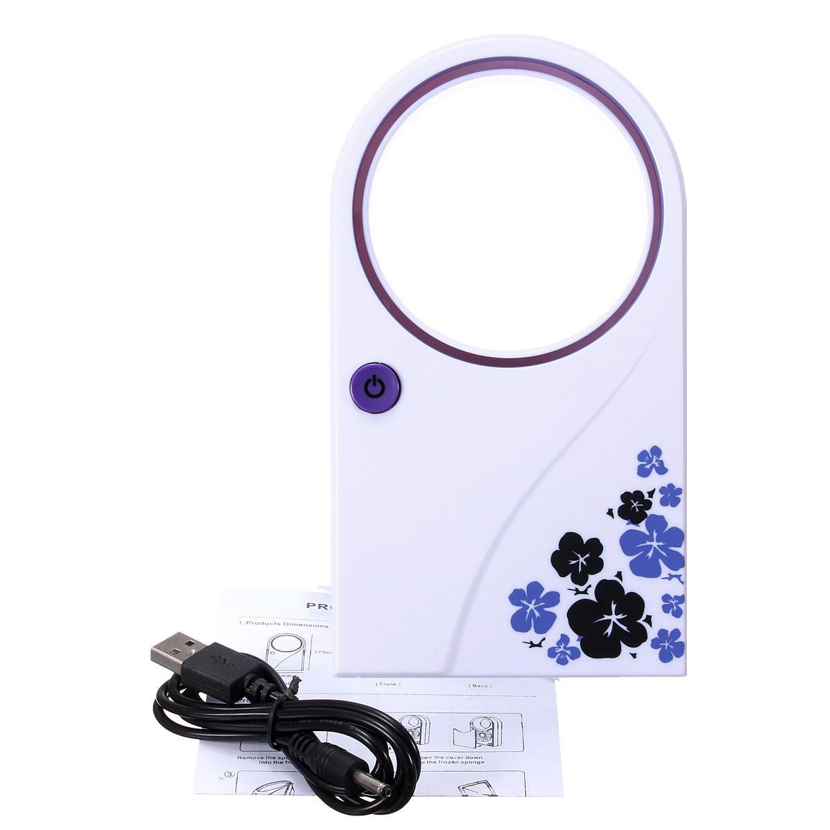 Held USB Bladeless Refrigeration Desktop Air Conditioner Cooler PC Fan #2D2D9E