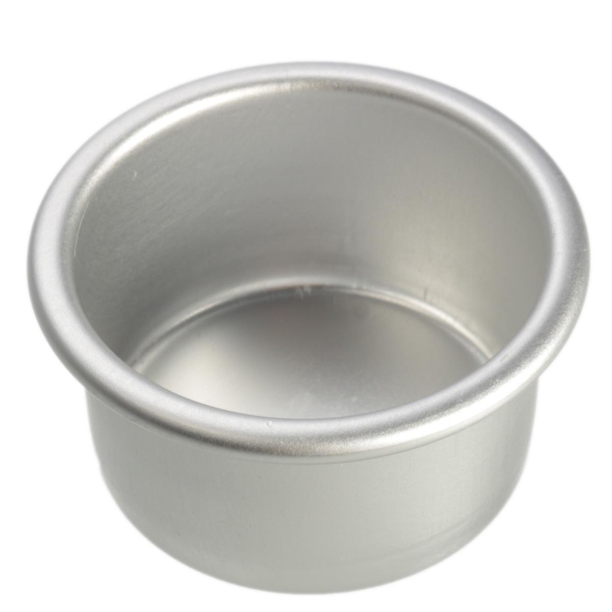 New 2/4/6/8'' Aluminum Alloy Non-stick Round Cake Baking Mould Pan Bakeware Tool