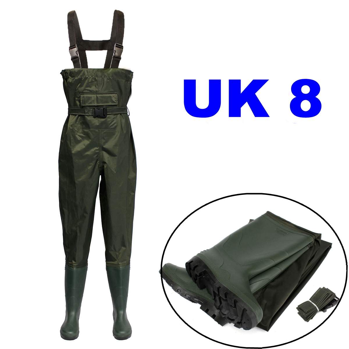 Waterproof chest waders stockingfoot breathable for fly for Fly fishing waders sale