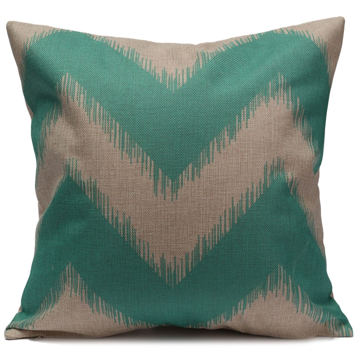 ZIG ZAG Wave Stripes Throw Pillow Case Square Cushion Cover Sofa CAR Home Decor eBay