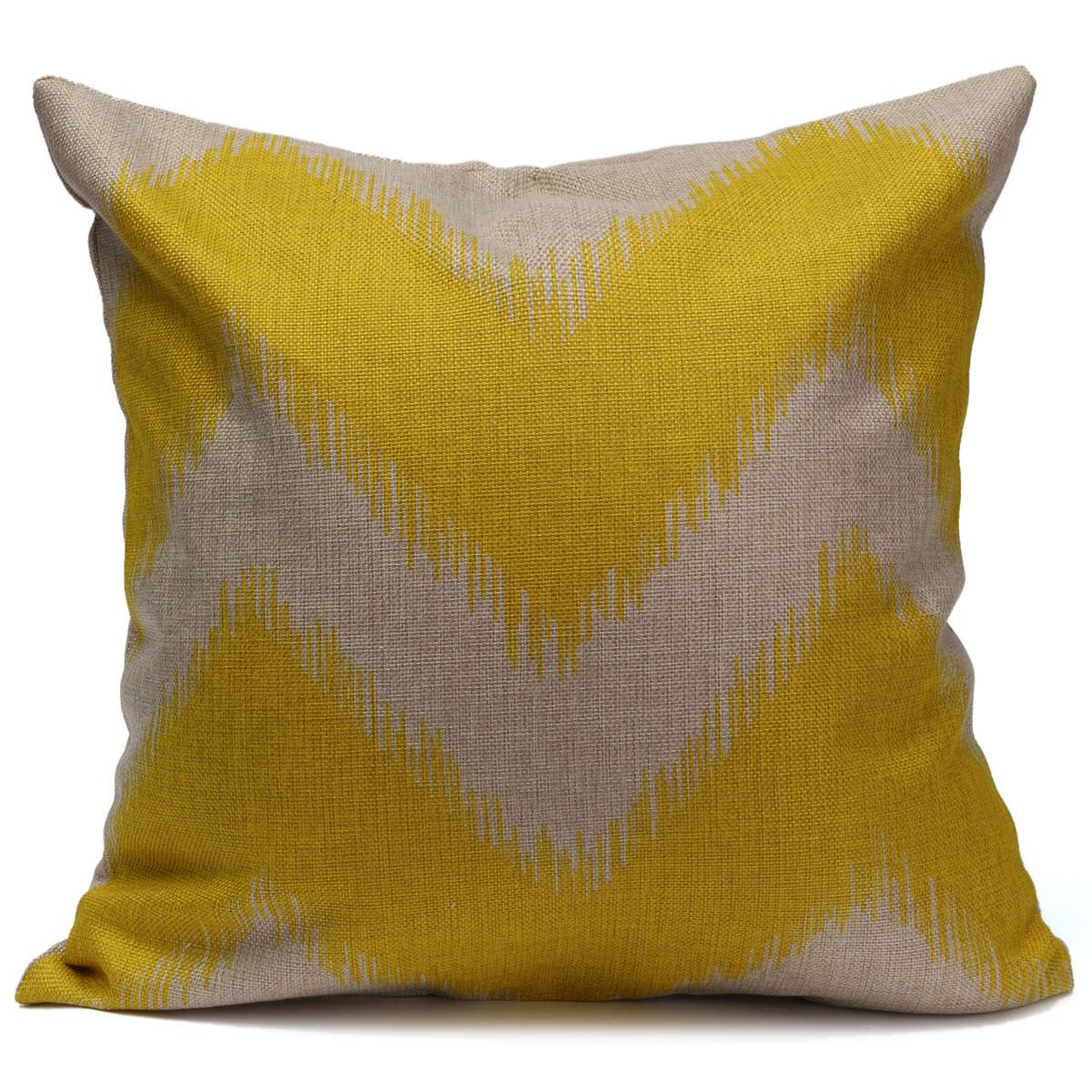 ZIG ZAG Wave Stripes Throw Pillow Case Square Cushion Cover Sofa CAR Home Decor eBay