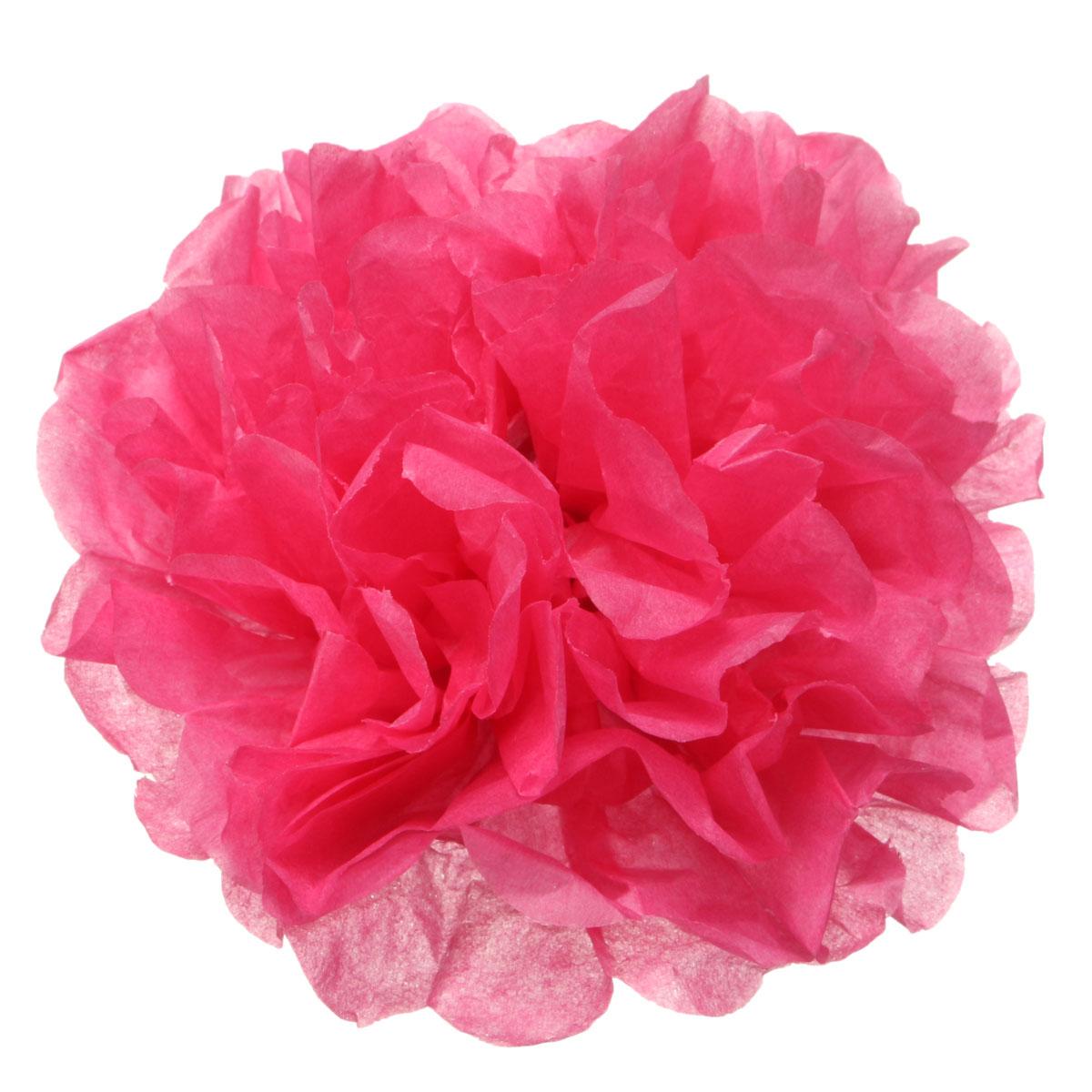 fleur pompon en papier boule suspendre soie d coration mariage f te soir e ebay. Black Bedroom Furniture Sets. Home Design Ideas