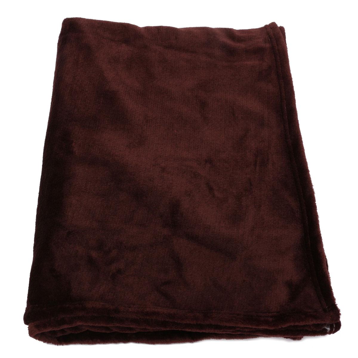 Plush Throw Rug: Super Soft Solid Warm Microplush Plush Fleece Blanket Rug
