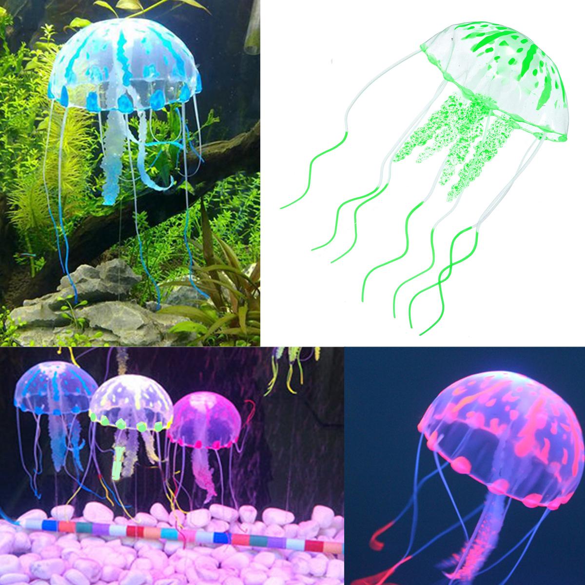 m duse artificielle silicone mou poudre fluorescente ornement d cor pr aquarium ebay. Black Bedroom Furniture Sets. Home Design Ideas