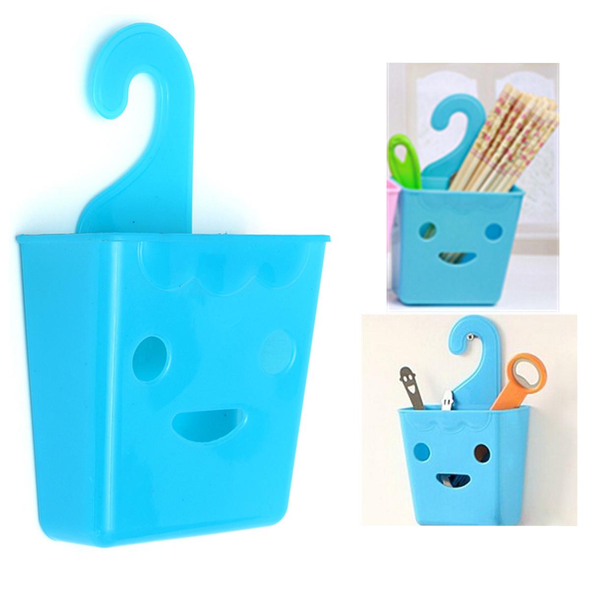 Organizador De Baño Colgante:Small Plastic Hanging Baskets