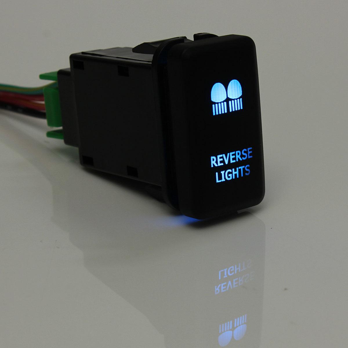 Led Reverse Light Push Switch For Toyota Landcruiser Hilux