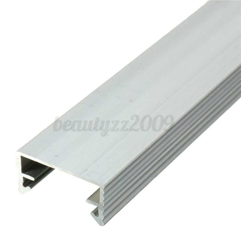 50CM U V Estilo AL Aluminio caso Shell Para 5050 5630 7020 Rígido Luz Tira