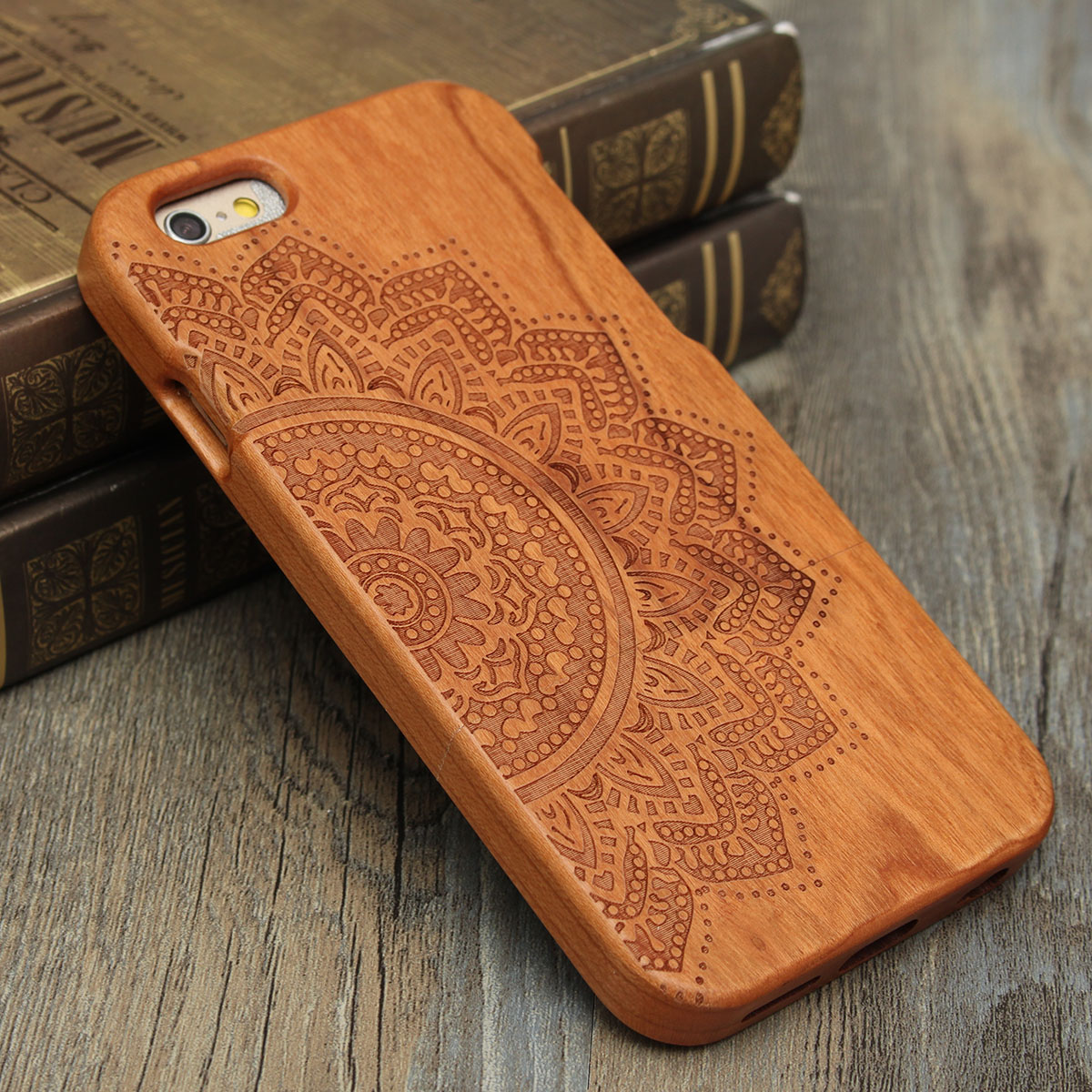 custodia legno iphone 6s