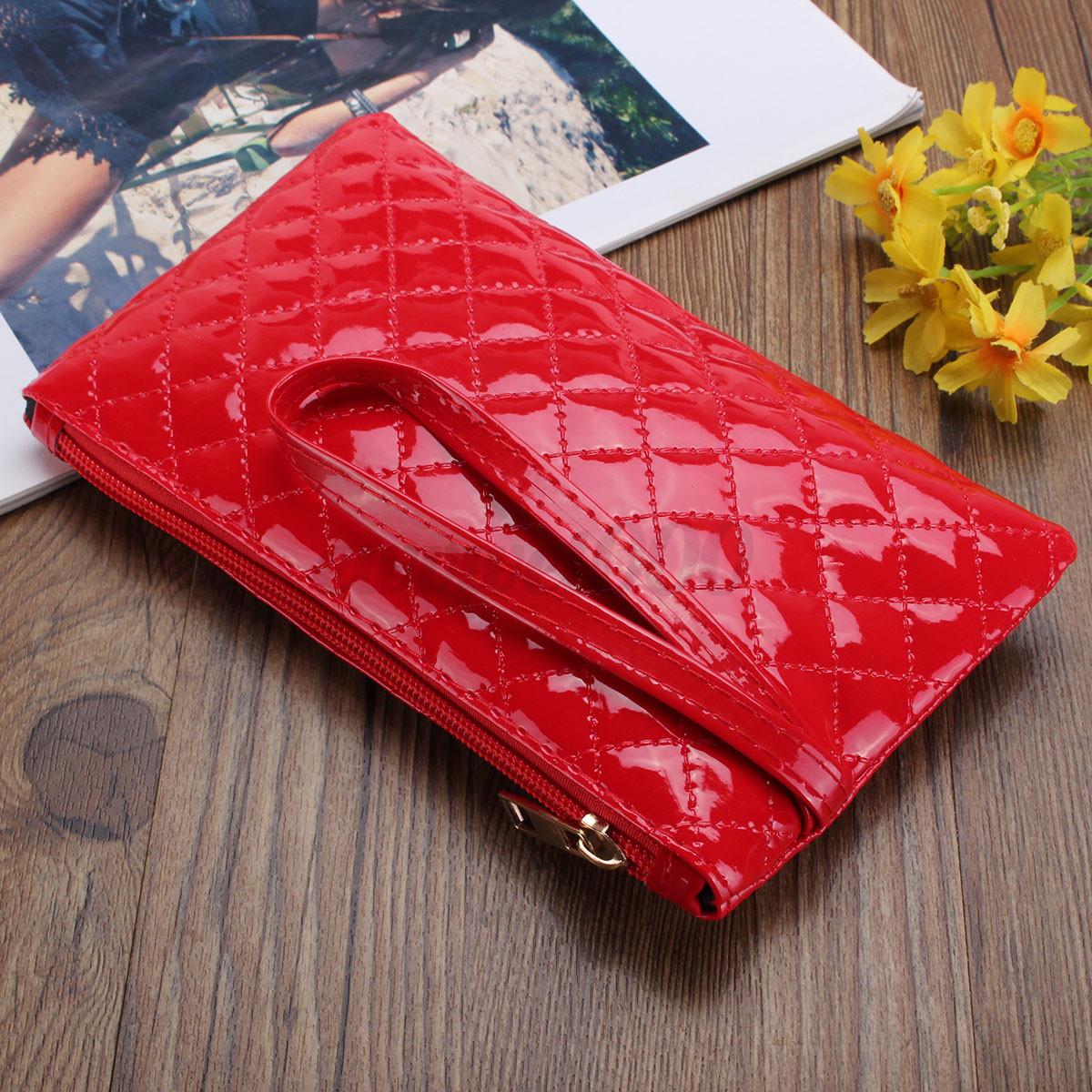 Women Lady Soft PU Leather Clutch Wallet Long Card Holder Coin Purse Bag Handbag