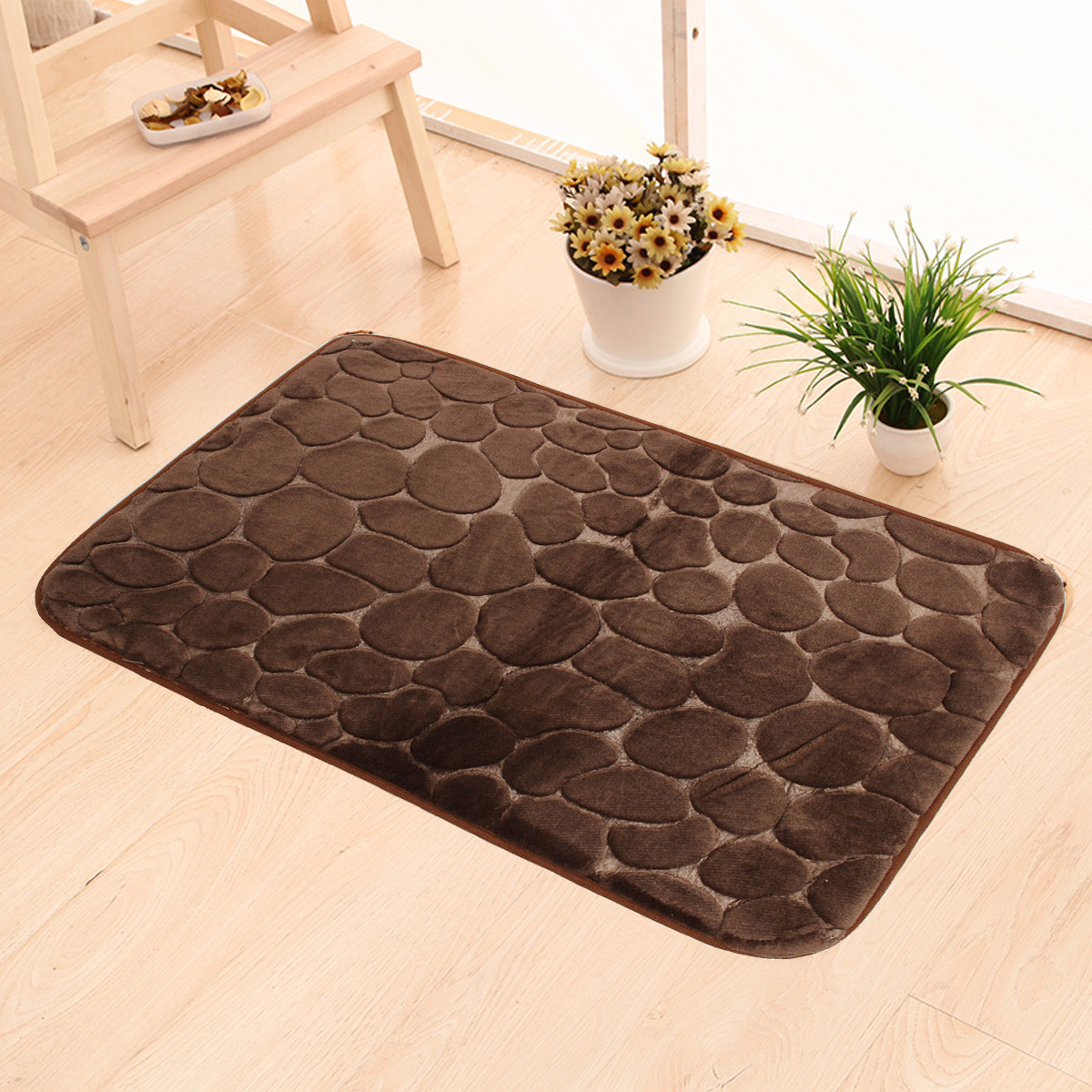 tapis paillasson entr e sol mousse m moire absorbant antid rapant salle de bain ebay. Black Bedroom Furniture Sets. Home Design Ideas