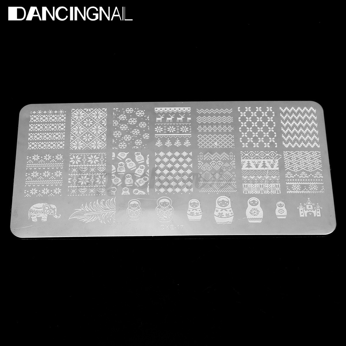 Nail Art Tips Polish Stamping Image Stamp Plates Unghie Manicure Template Decora