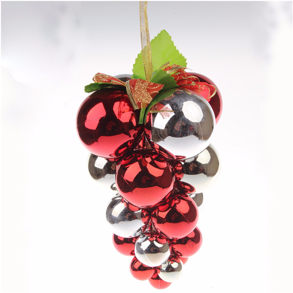 Grape glitter balls baubles christmas tree wall xmas party