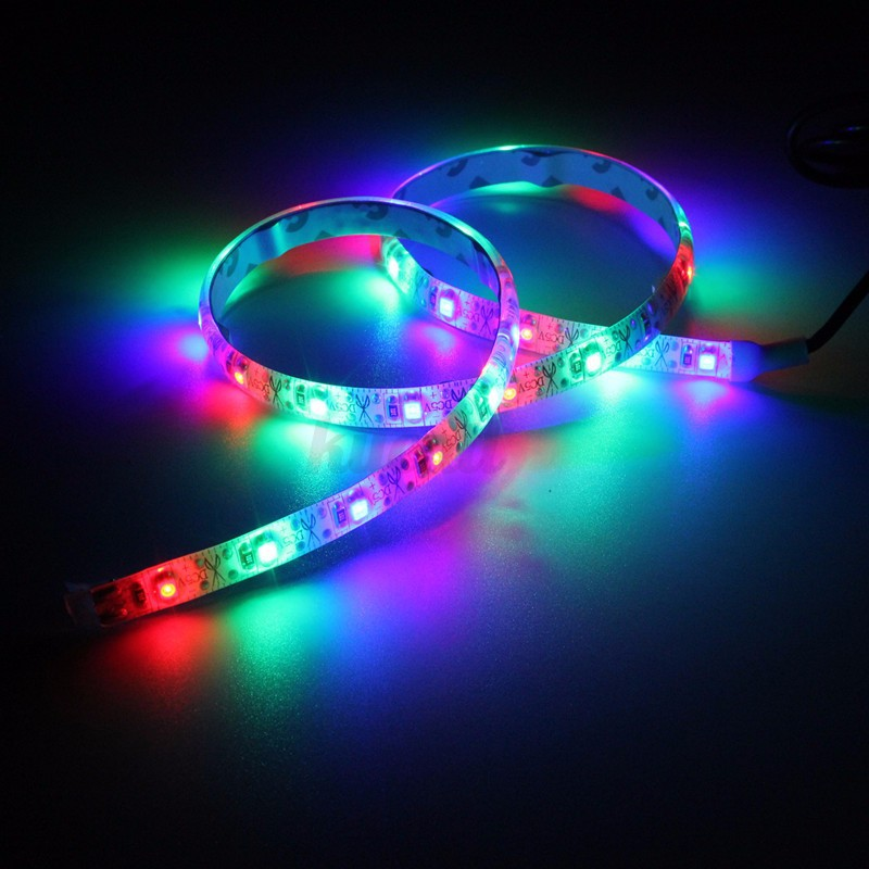 50 100 200cm usb 3528smd led tv hintergrund beleuchtung lichterkette strip licht ebay. Black Bedroom Furniture Sets. Home Design Ideas