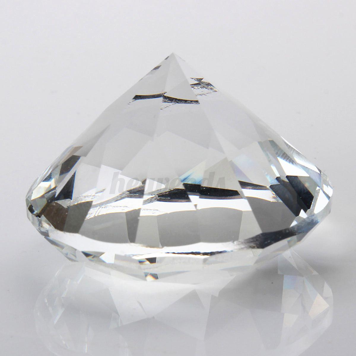 45mm kristall glas diamant deko glasdiamant kristallglas - Feng shui deko ...