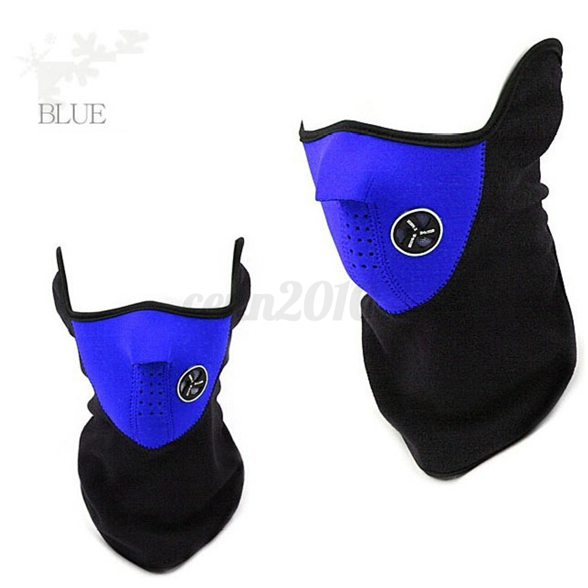Details about 6 in1 Thermal Fleece Ski Face Mask Balaclava Hood Neck ...