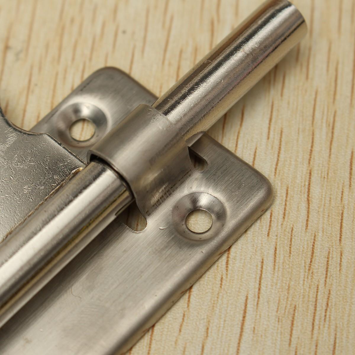 4 39 39 6 39 39 8 39 39 acier inox verrou loquet targette p ne porte for Loquet fermeture fenetre