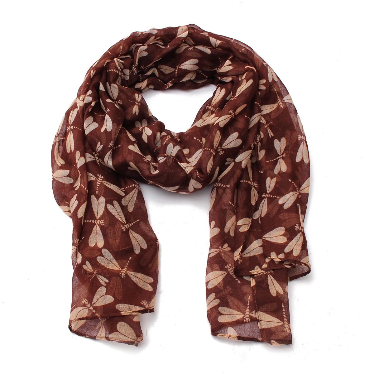 175 90cm shawl dragonfly soft scarf scarves