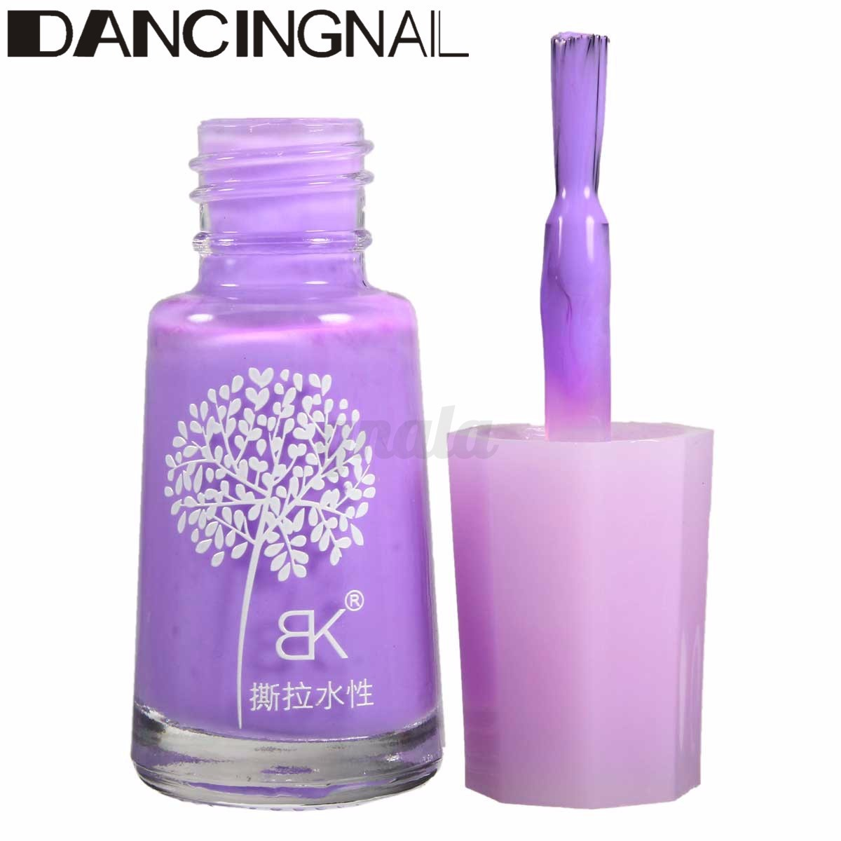 Charm Peel-off Water-based Nail Art Polish Gel Shimmer Peelable Varnish Manicure