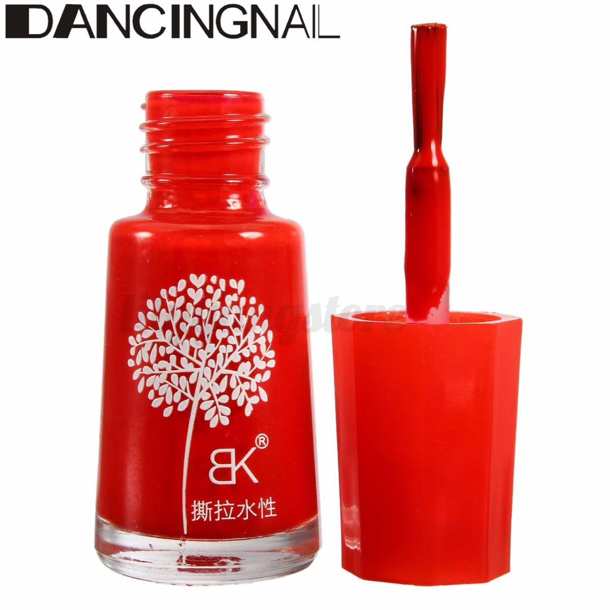 7ml Natural Tasteless Non-toxic Water-based Peelable Nail Art Polish Varnish Gel