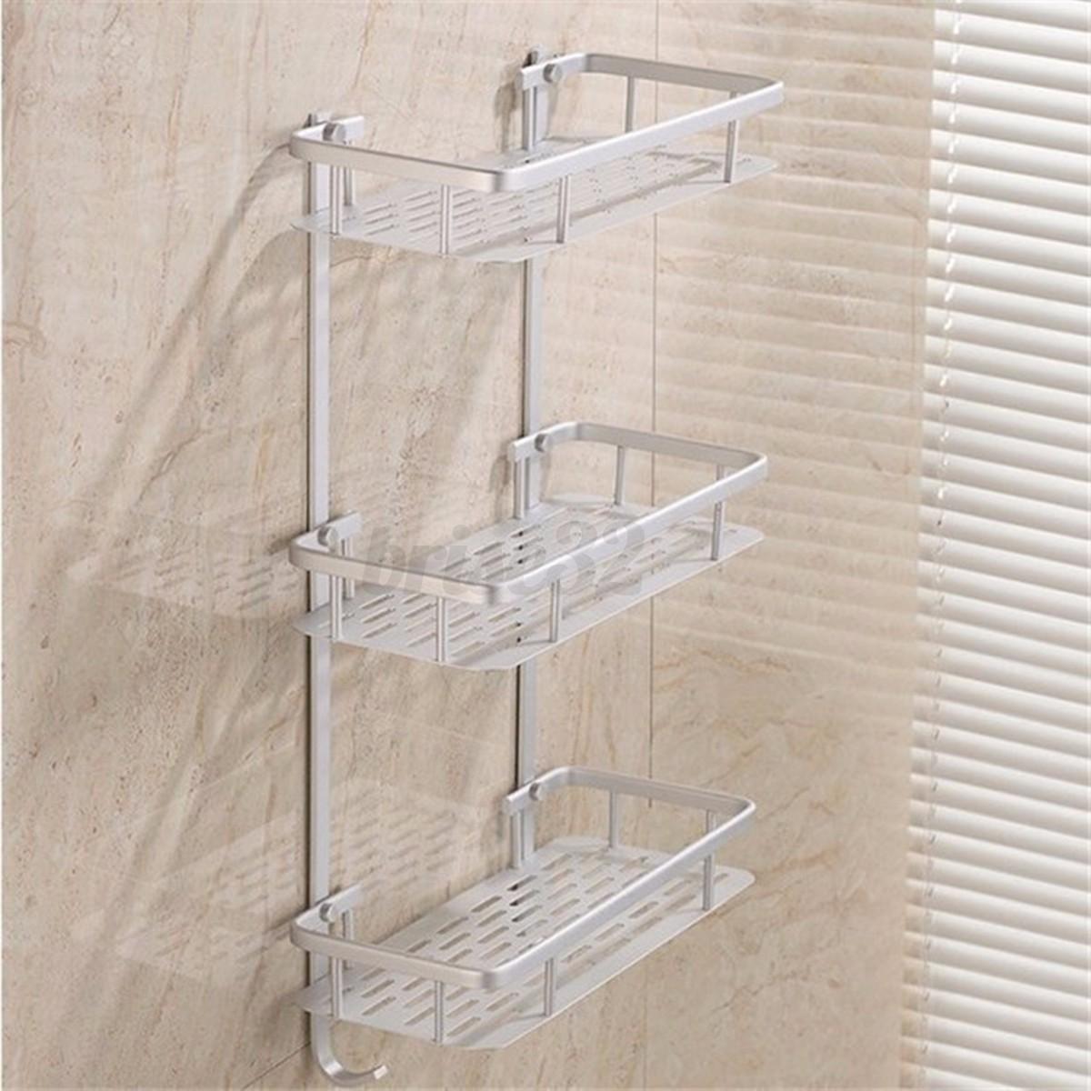 Soporte de almacenamiento de jab n champ de ducha de for Accesorios de almacenamiento de bano
