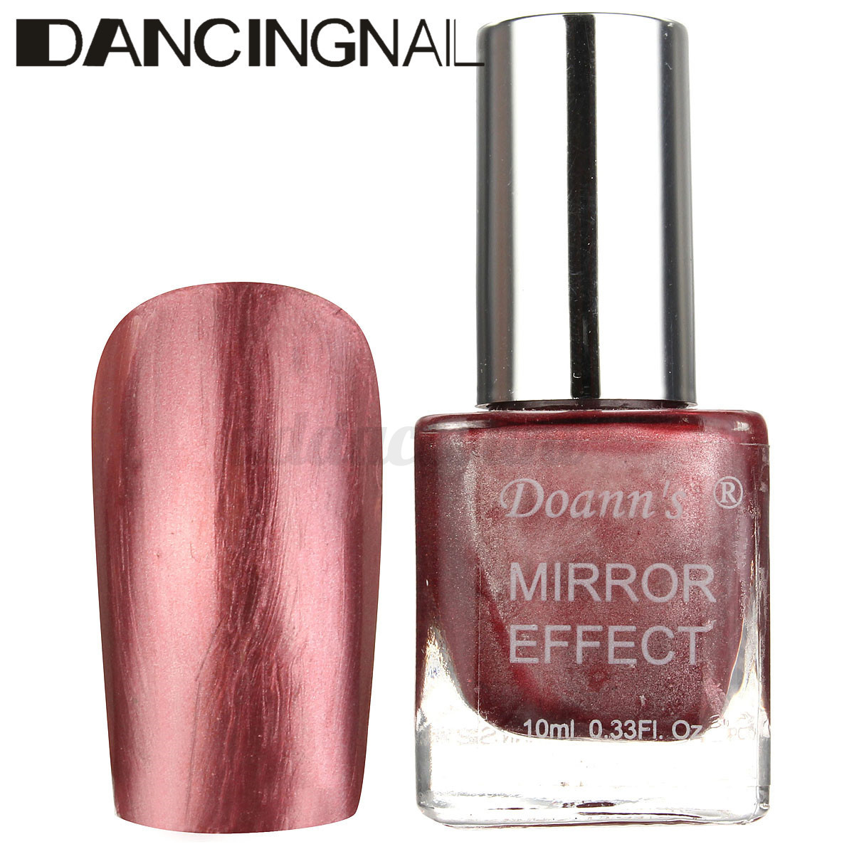 10ML Bling Metallic Mirror Effect Soak Off Nail Art